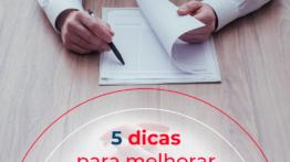 5 dicas para melhorar o seu currículo