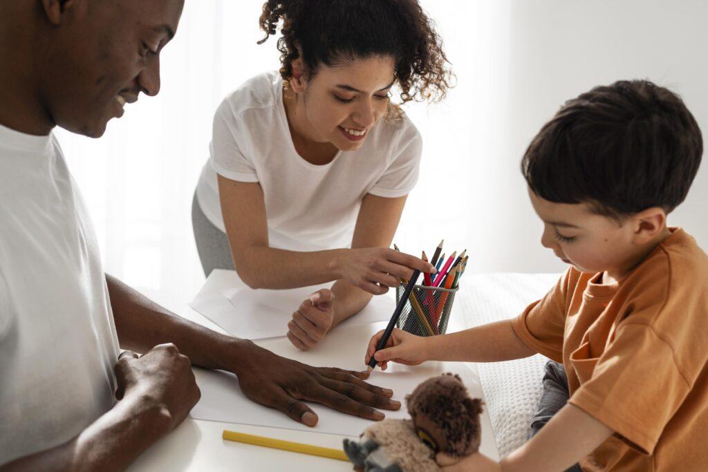 aprendizagem dos filhos