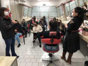 Workshop de Técnicas de Maquiagem foi realizado nas Unidades de Marau e Tapejara